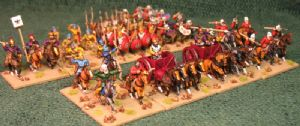 15mm Xyston, Later Achaemenid Persian DBA Starter Army (ANC3014)
